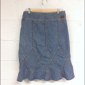 Dkny Skirts - Vintage DKNY Jeans denim skirt